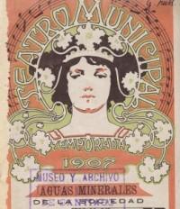 Programa Temporada Lírica, 1907