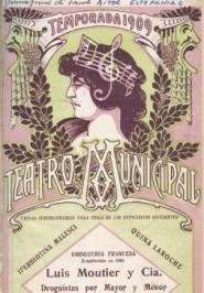 Programa Temporada Lírica, 1909