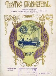 Programa Temporada Lírica, 1917